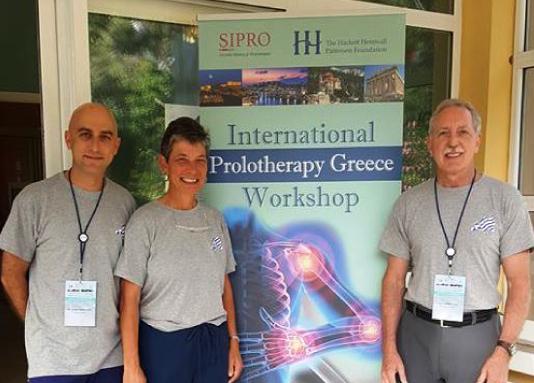 European School of Prolotherapy – Greek mission <b>01/06/2017</b>